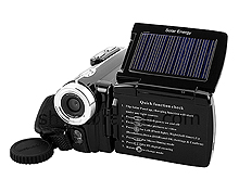 Digital Video Camcorder with Solar Charger