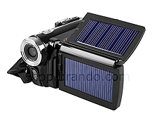 Digital Video Camcorder with Dual Solar Charger