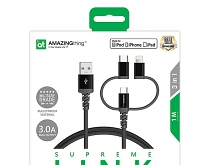 AMAZINGthing Supreme Link 3-In-1 Cable