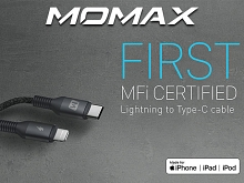 Momax Elite Link Lightning to Type-C Cable