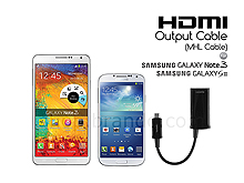 HDMI output cable ( MHL cable ) for Samsung Galaxy Note 3 / S3