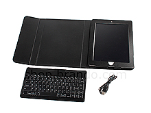 iPad 2 Reclosable Fastener Case with Bluetooth Keyboard