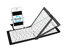 Folding Bluetooth Keyboard for iPhone 4S