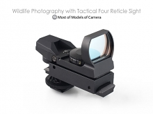Wildlife Photography with Tactical Four Reticle Sight