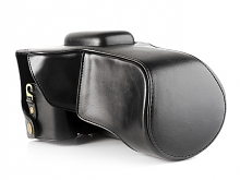 Nikon D5600 Leather Camera Case with Flash Cover