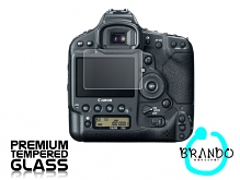 Brando Workshop Premium Tempered Glass Protector for Camera (Canon EOS-1D X)