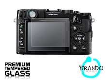 Brando Workshop Premium Tempered Glass Protector for Camera (FujiFilm X10)