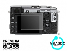 Brando Workshop Premium Tempered Glass Protector for Camera (FujiFilm X-E1)