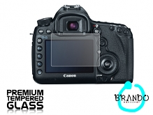 Brando Workshop Premium Tempered Glass Protector for Camera (Canon EOS 5D Mark III)