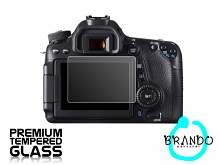 Brando Workshop Premium Tempered Glass Protector for Camera (Canon EOS 70D)
