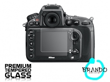 Brando Workshop Premium Tempered Glass Protector for Camera (Nikon D800)