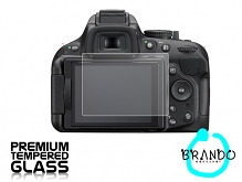 Brando Workshop Premium Tempered Glass Protector for Camera (Nikon D5200)