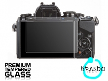 Brando Workshop Premium Tempered Glass Protector for Camera (Olympus OM-D E-M10)