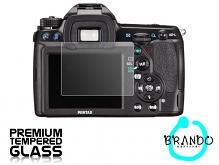 Brando Workshop Premium Tempered Glass Protector for Camera (Ricoh Pentax K-5 II)