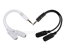 White Stereo Splitter Cable
