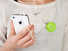Earphone Winder Button