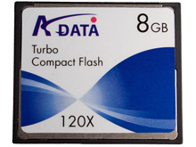 A-Data 8GB CF Card (45X/266X)