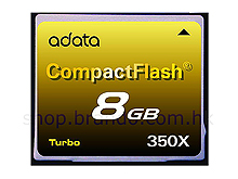 A-Data 8GB Turbo CF Card (350X)