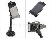 2 in 1 Windshield Holder + Rotatable Clip Holster for iPhone 2G / 3G / 3G S