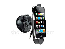 Car Mount Charging Holder + Audio for iPhone 3G/3GS