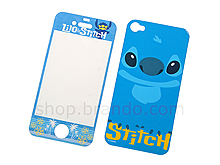 iPhone 4/4S Soft Nap Front/Rear Combo Set - STITCH