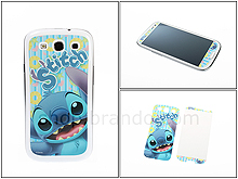 Samsung Galaxy S III I9300 Phone Sticker Front/Rear Set - Stitch