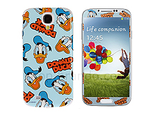 Samsung Galaxy S4 Phone Sticker Front/Side/Rear Set - Donald Duck