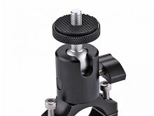 Bike Aluminum Handlebar Tripod Ball Head Adapter Mount