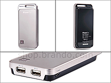 8000mAh iPowerPro Portable Dual USB Ouput (2.1A+1A) External Battery