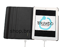 The new iPad (2012) Crocodile Stand Powercase (4400mAh)