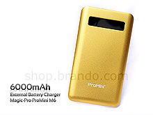 Magic-Pro ProMini M6 External Battery Charger (6000mAh)
