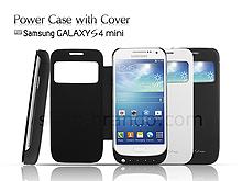 on sale 114aa 1e78e Power Case For Samsung Galaxy S4 mini with Cover - 2600mAh