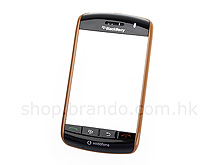 BlackBerry Storm 9500 Replacement Front Cover - Orange