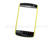 BlackBerry Storm 9500 Replacement Front Cover - Yellow