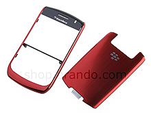 BlackBerry Curve 8900 / 8930 / 9300 Replacement Front & Back Cover - Red