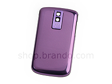 BlackBerry Bold 9000 Replacement Back Cover - Shiny Dark Purple