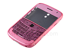 Blackberry Bold 9000 Replacement Housing - Frosted Pink
