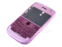 Blackberry Bold 9000 Replacement Housing - Frosted Purple