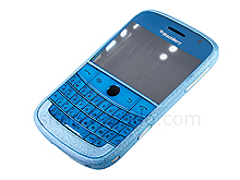 Blackberry Bold 9000 Replacement Housing - Frosted Blue