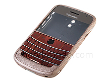Blackberry Bold 9000 Replacement Housing - Frosted Brown