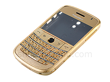 Blackberry Bold 9000 Replacement Housing - Frosted Gold