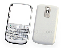 Blackberry Bold 9000 Replacement Housing - Pearl-White
