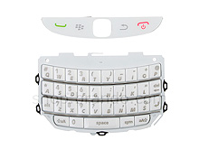 BlackBerry Torch 9800 Replacement Keypad - White