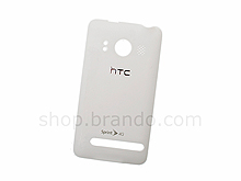 HTC EVO 4G Replacement Back Cover - White
