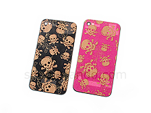 iPhone 4S Skull Rear Panel