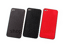 iPhone 4S Rugged Leather Rear Panel