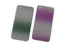iPhone 4S Gradient Checker Pattern Rear Panel