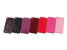 iPhone 4S Crocodile Leather Rear Panel