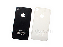 iPhone 4S Clear Apple Rear Panel