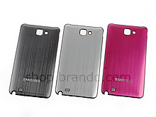 Samsung Galaxy Note Metallic Replacement Back Cover
